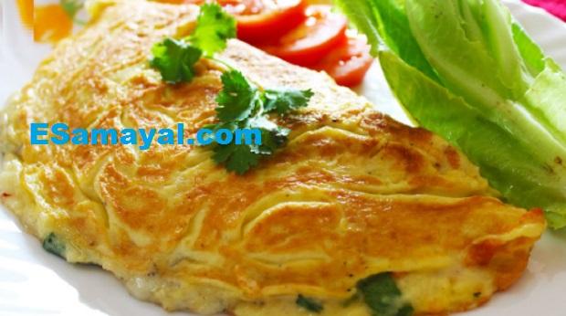 மசாலா ஆம்லெட் செய்வது | Spice Omelette Recipe !