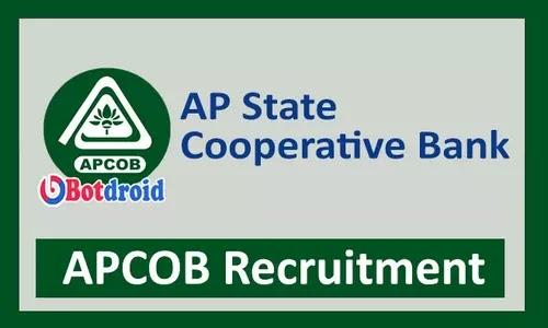 APCOB Recruitment 2021 Notification, Apply online for AP Cooperative Bank Recruitment 2021 in Andhra Pradesh
