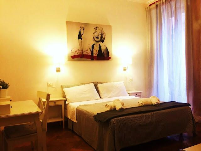 Villa Borghese Guest House camera matrimoniale