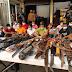 Operasi Gabungan Polda dan Polres Jakbar Gerebek Sarang Narkoba di Kampung Ambon
