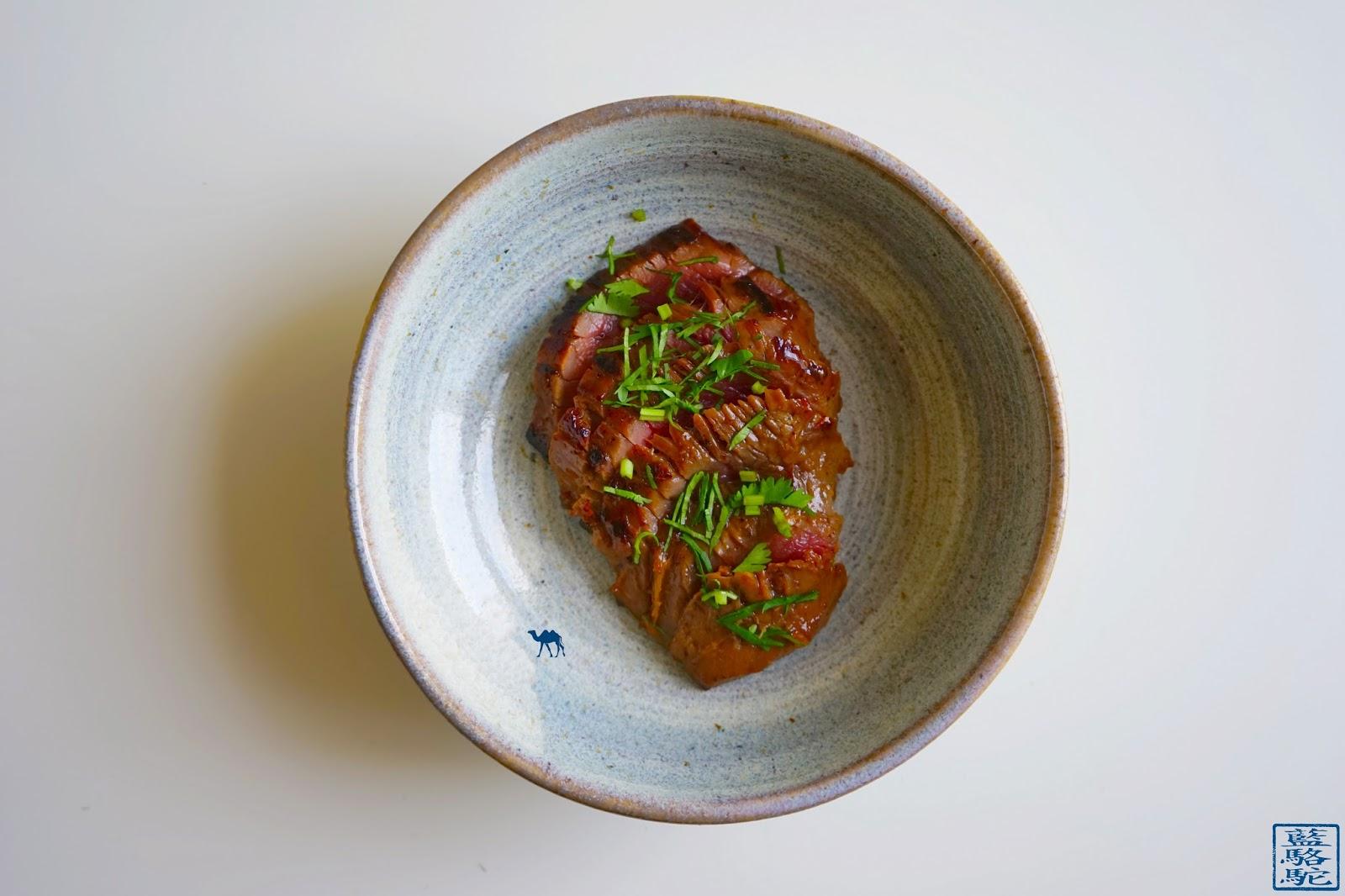 Le Chameau Bleu - Blog Cuisine et Voyage -Recette asiatique - Tigre qui pleure et Rhubarbe