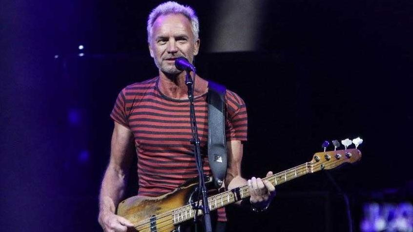 Condizioni di salute di Sting dopo l'annullamento di tutti i concerti fino a Domenica.