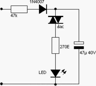 sekedar berbagi ilmu: Rangkaian LED sederhana