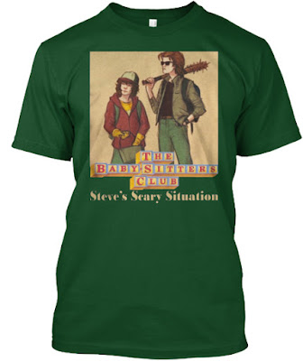 Baby Sitters Club T Shirt, The Baby Sitters Club Steve's Scary Situation