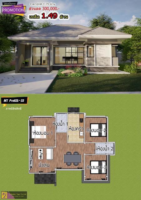 ส่วนลดสร้างบ้านราคาประหยัด