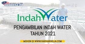 Jawatan Kosong Indah Water ~ Pengambilan tahun 2021
