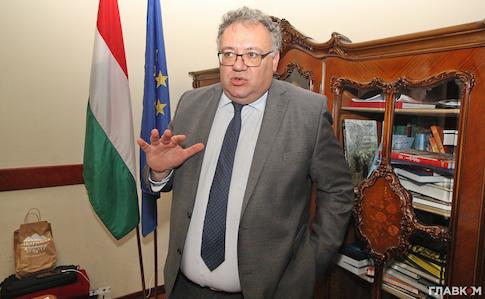 МЗС вручило ноту протесту послу Угорщини за слова про автономію Закарпаття