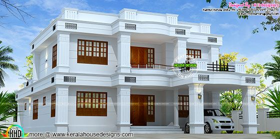 2785 sq-ft 5 bedroom Kerala home design
