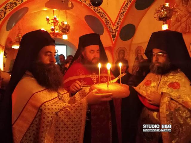 Η Εορτή του Αγίου Θεοδοσίου του Κοινοβιάρχου στο Άργος