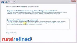 cara install windows 8 pakai dvd