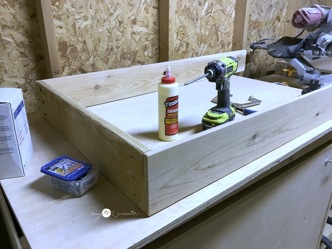 building a shelf with pocket holes