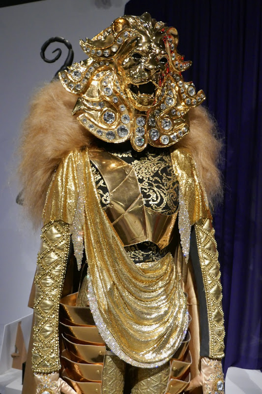 Masked Singer season 1 Lion mask