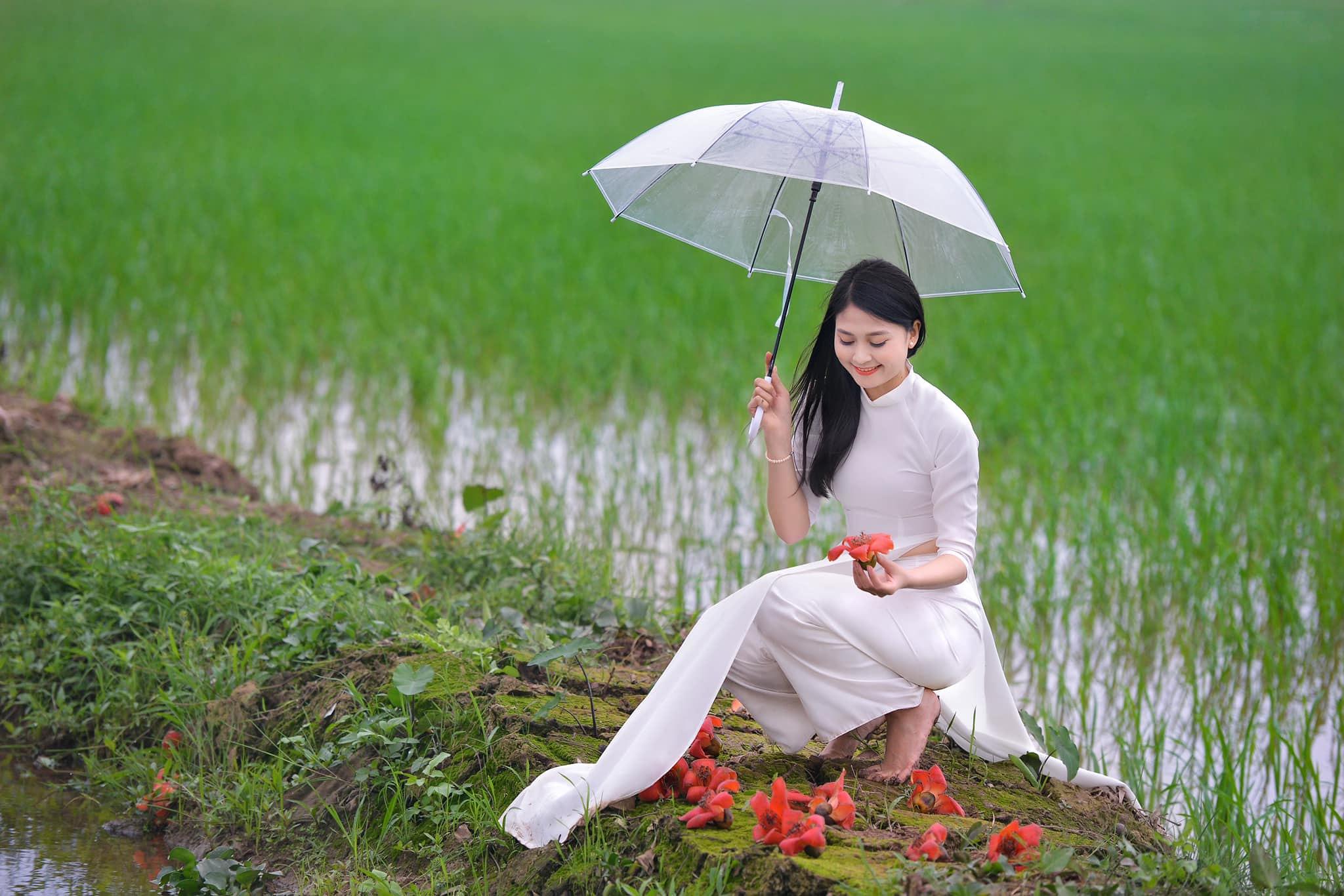 Tuyển tập girl xinh gái đẹp Việt Nam mặc áo dài đẹp mê hồn #57 - 20