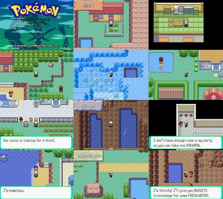 Pokemon Dumbdumb Island Screenshot