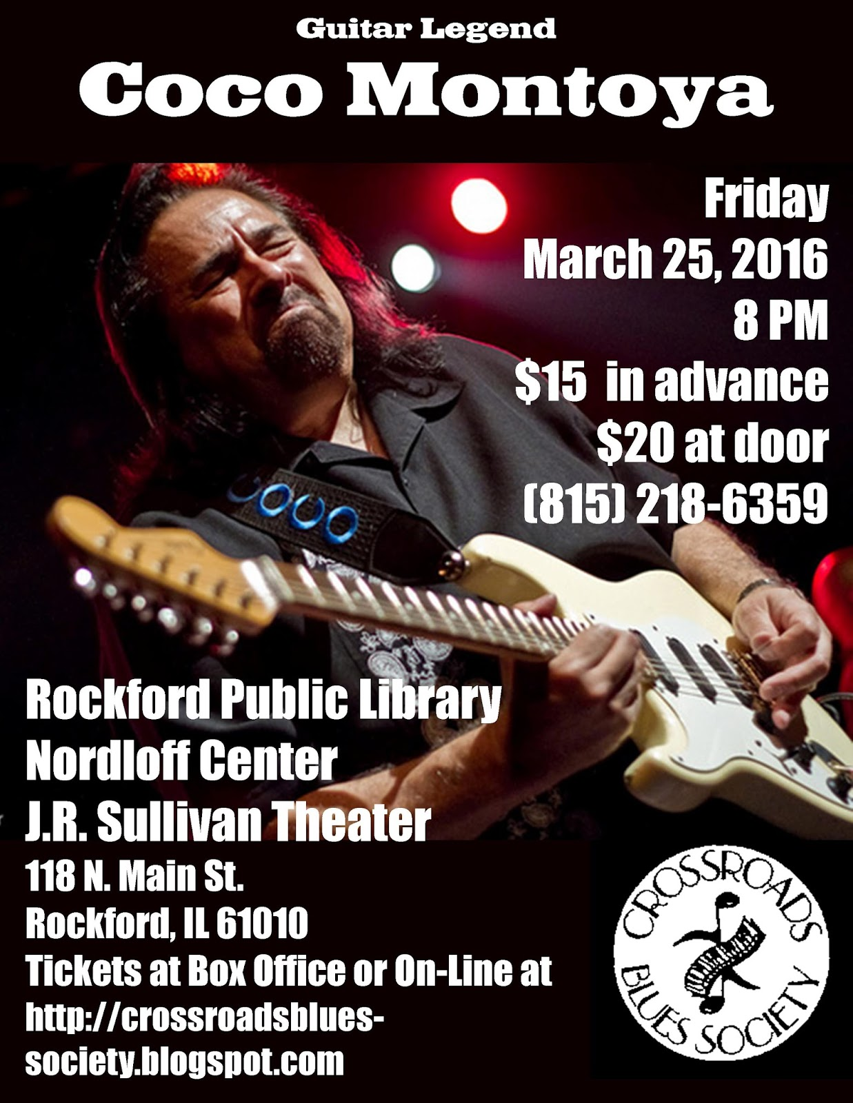Buy Tickets to Coco Montoya Show