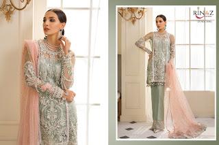 Rinaz Fashion gulal Georgette Pakistani Suits Wholesaler