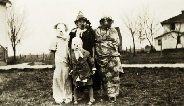 Variations of traditional scary costumes such as ghosts witches and skeletons are still popular today. & Creepy Halloween Costumes from the 1930s and 1940s ~ vintage everyday