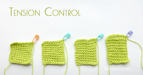 Tunisian Crochet - How to Change and Control your Tension