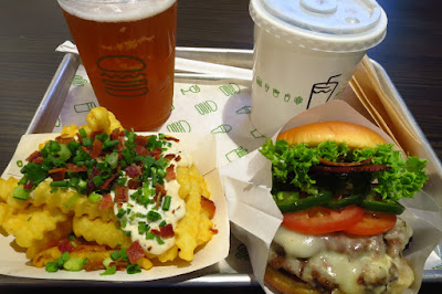 Shake Shack, jalapeno ranch burger fries