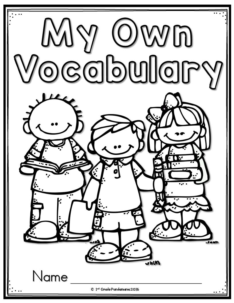1st Grade Pandamania: Vocabulary Every Day!