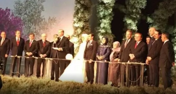 Erdogan's daughter married, Albanian Prime witness at the wedding