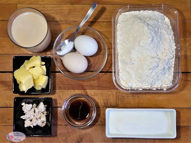 ingredientes de los bollos suizos caseros, sin lactosa, con soja, mantequilla casera, sin aceite de palma, #comfortfood