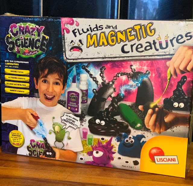 Crazy Science Laboratory Fluids and Magnetic Creatures