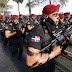 Fuerzas Armadas y PN realizan desfile en el malecón de SD y demuestran avances tecnológicos