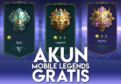 Kumpulan Akun Mobile Legends (ML) Rank Grand Master