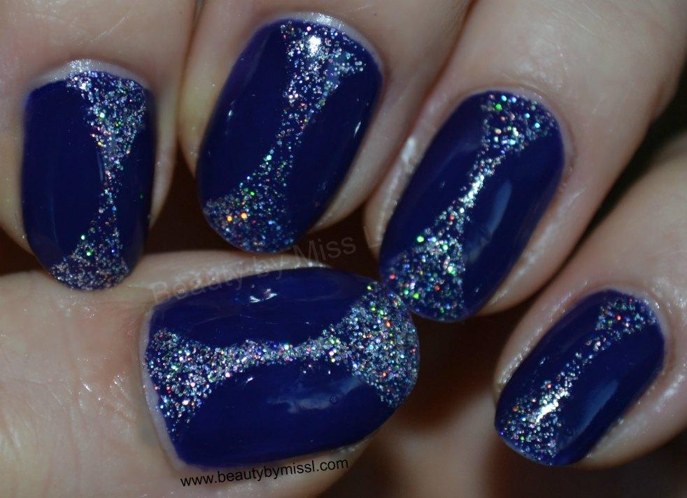 Barry M Indigo, BYS Glitter Crystal