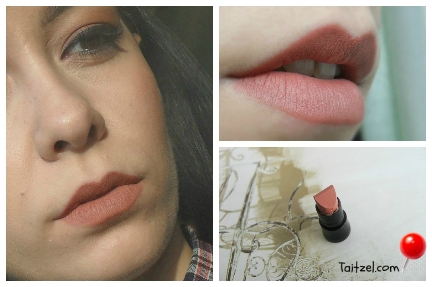 Swatch Avon True Color Perfectly Matte Part 1 Taitzel Beauty