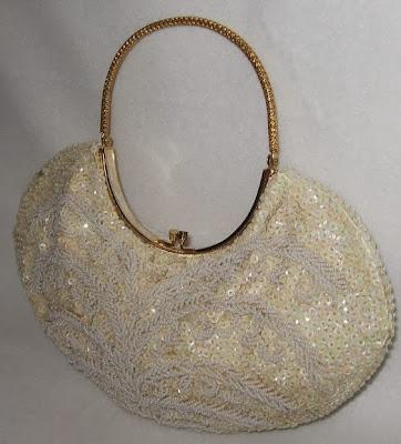 Vintage Aura Borealis Evening Bag