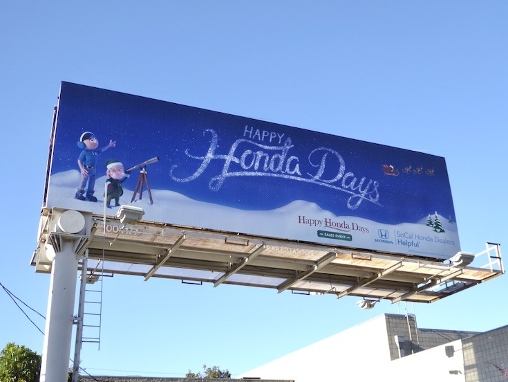 Happy Honda Days 2016 billboard