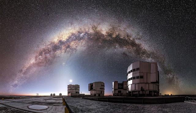 Resultado de imagem para Observatório Europeu Deserto do Atacama