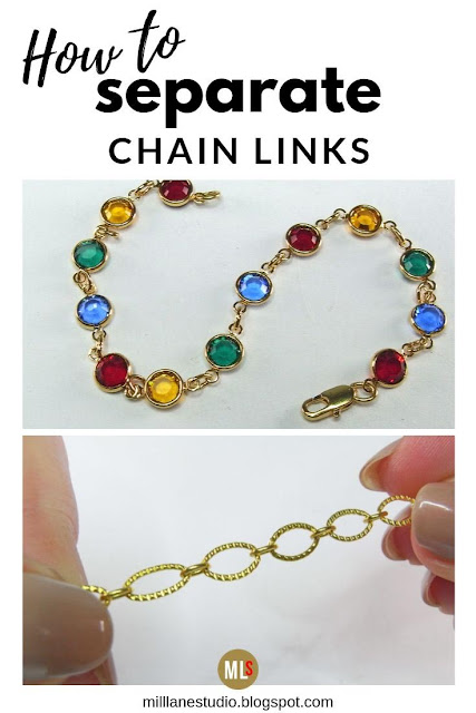 How to separate chain links tip sheet