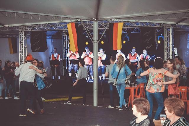 Bandinha alemã na oktoberfest