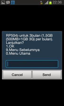 Paket Internet SimPATI Paling Murah 50 Ribu Kuota 1,5GB Perbulan Selama 3 Bulan