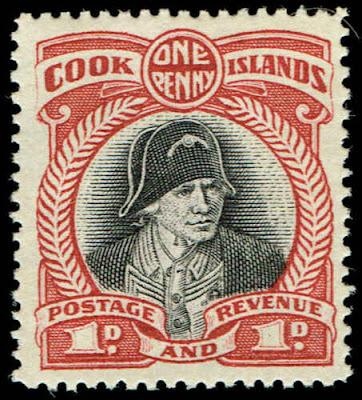 Cook Islands Captain James Cook