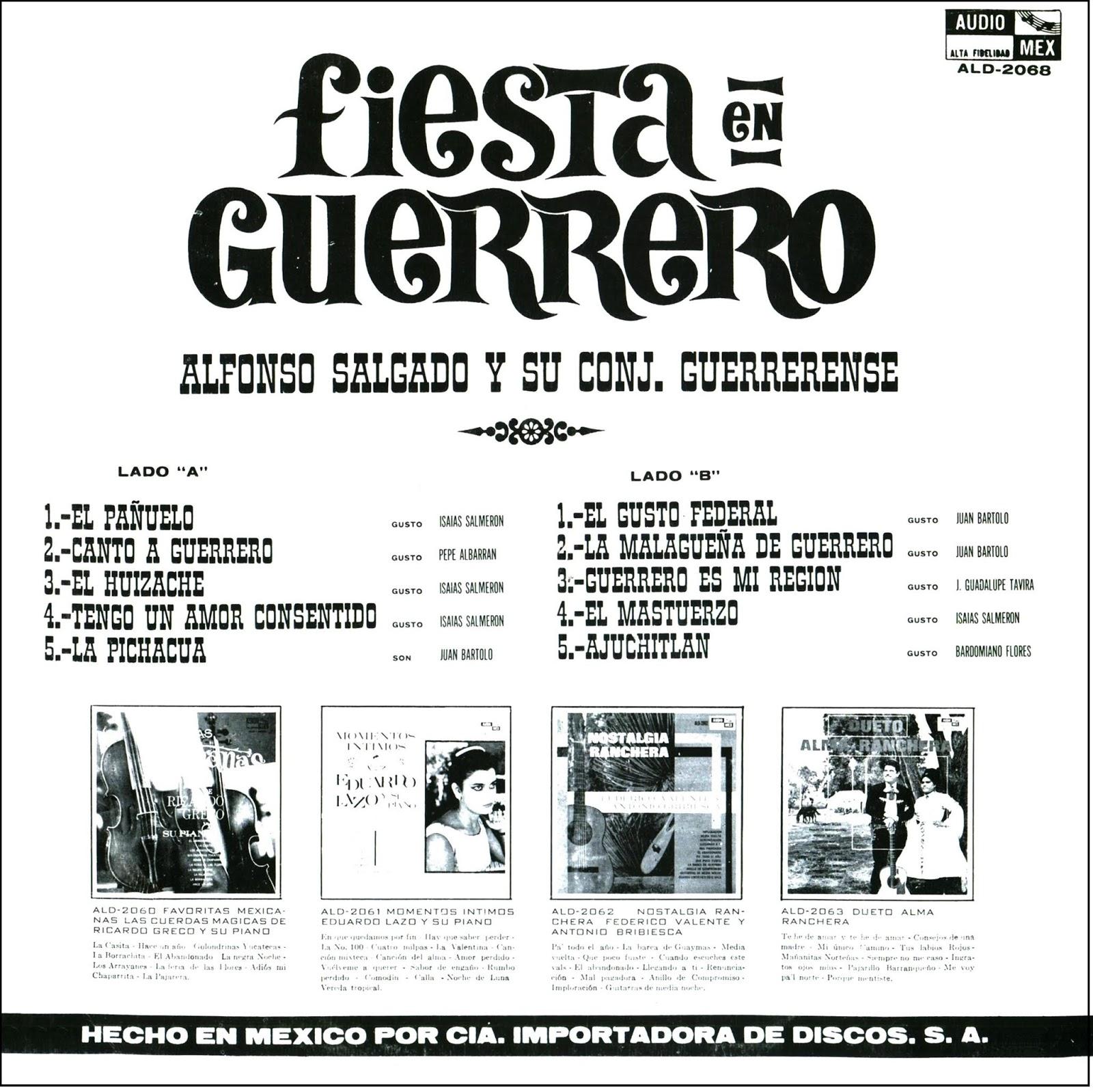 Fonoteca de la danza folclórica de México: FIESTA EN