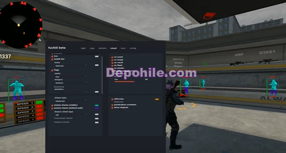 Counter Strike GO Fuchill v1 Aimbot - Wall Hilesi 15.09.2019