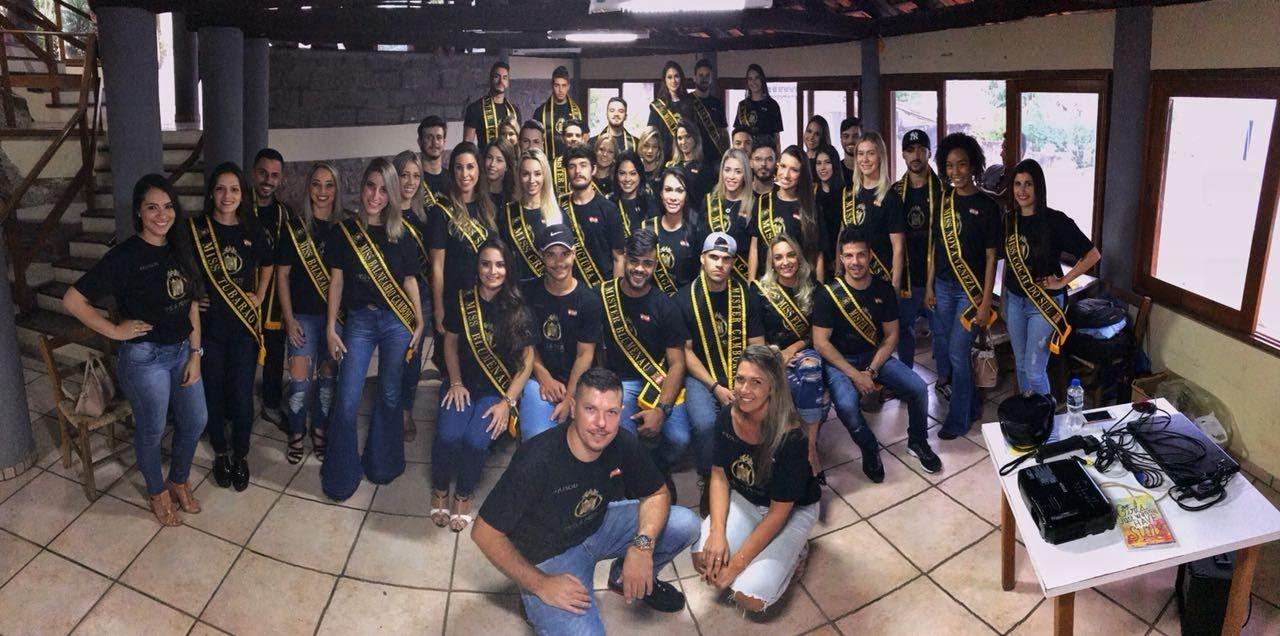Candidatos do Miss e Mister Santa Catarina. Foto: Divulgação