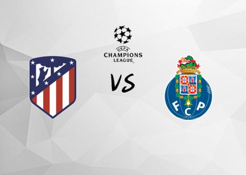 Atlético de Madrid vs Oporto  Resumen
