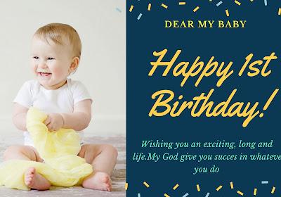 ucapan ulang tahun untuk anak 1 tahun