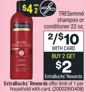 FREE Tresemme Shampoo CVS Deal 7/11-7/17