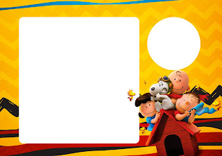 Charly Brown y Snoopy: Invitaciones para Imprimir Gratis.
