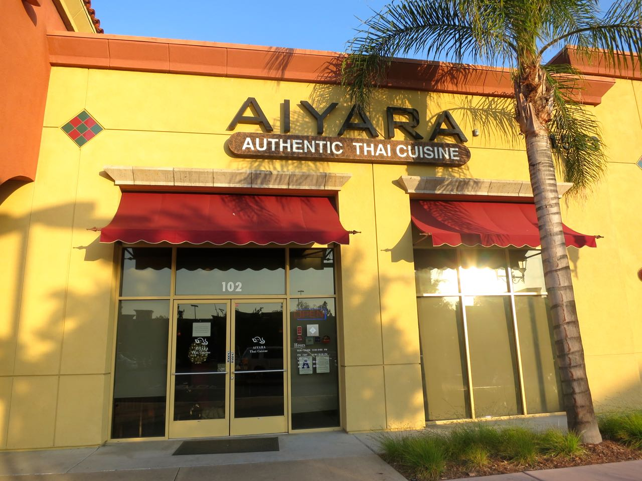 The veracious vegan aiyara thai temecula ca for Aiyara thai cuisine
