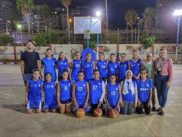 بنات سموحة يهزمن الاتحاد السكندري تحت ١٣ سنة في بطولة الإسكندرية لكرة السلة