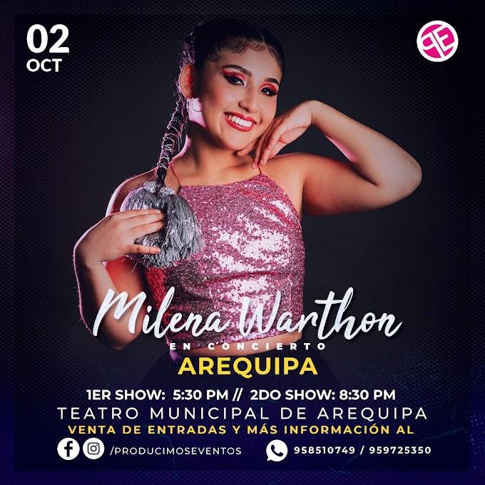 Milena Warthon en Arequipa 2021 - 02 de octubre