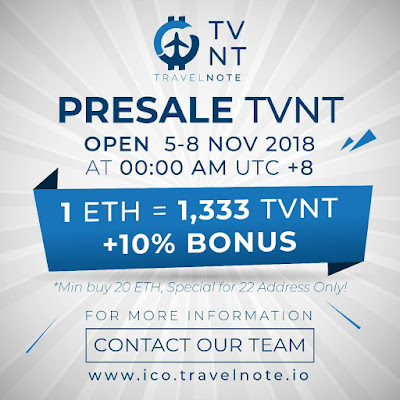 ICO Travelnote (TVNT)