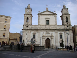 The Cathedral of Santa Maria la Nova is one of the main buildings in the town of Caltanisetta